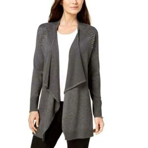 Style&co JM Collection Studded Cardigan